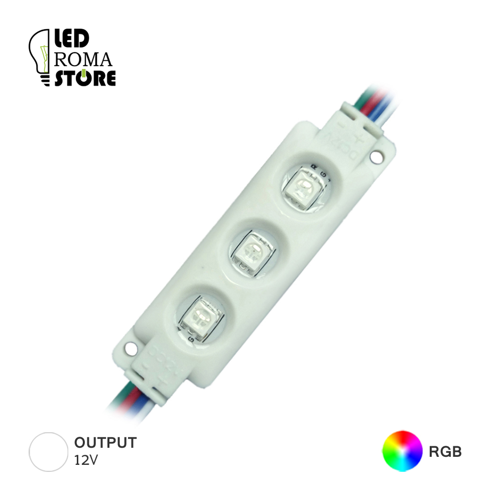 modulo led smd5050 12v Ip67 rgb