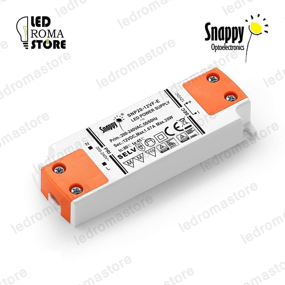 Alimentatore per LED slim non impermeabile Snappy