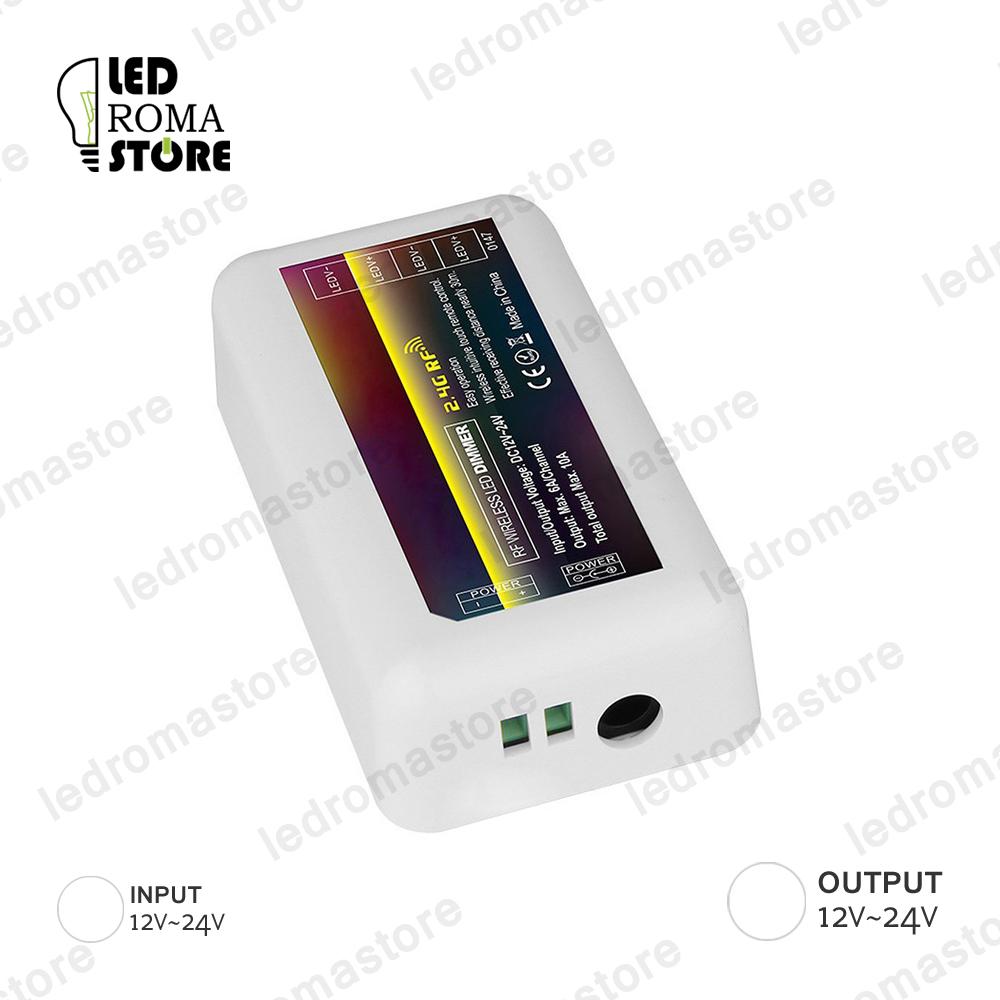 Centralina ricevitore 2.4GHz per striscia LED