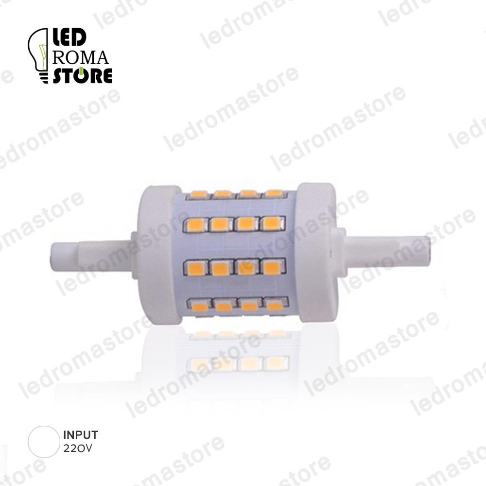 Lampada LED R7S 5W SMD 2835 78 MM