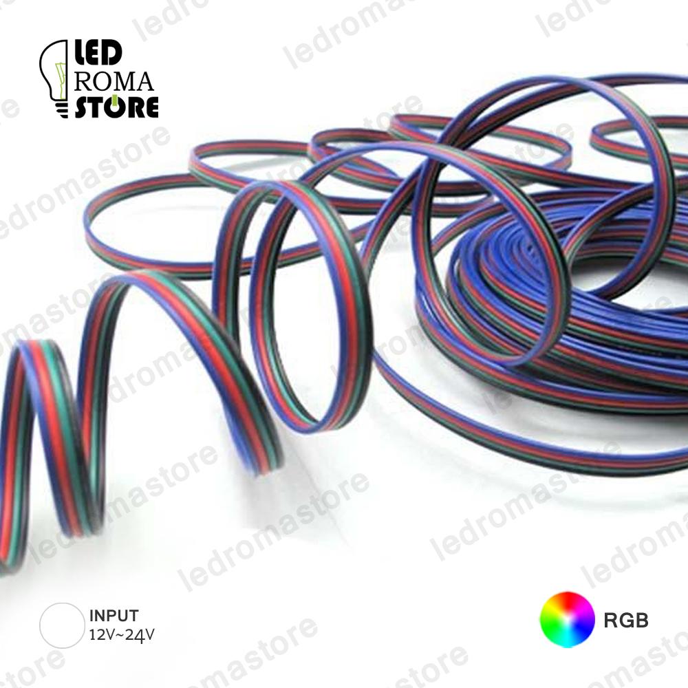 Cavo di prolunga filo RGB per unire strisce LED RGB