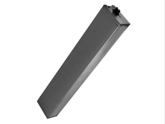 Alimentatore per lampada LED lineare nera da soffitto e sospensione 220-240V